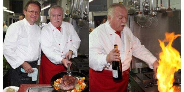 Bürgermeister Häupl kocht auf