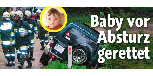 Baby in Kärnten vor Absturz gerettet