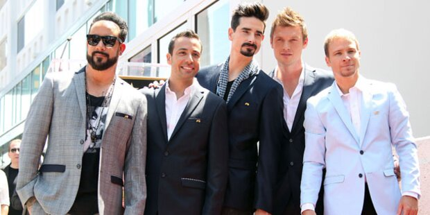 Backstreet Boys bringen neue CD heraus