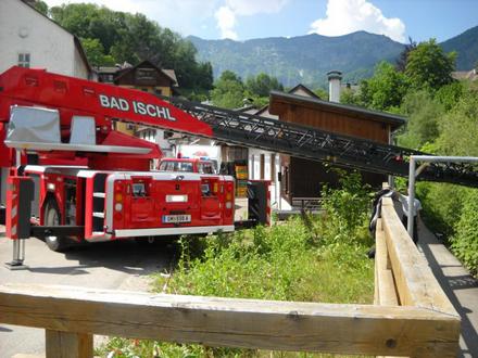 Unfall Sturz vom Felsen Bad Ischl