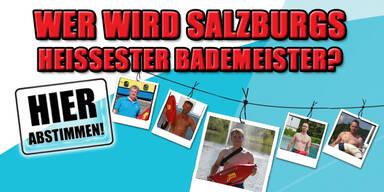 Wer ist  Salzburgs heißester Bademeister?