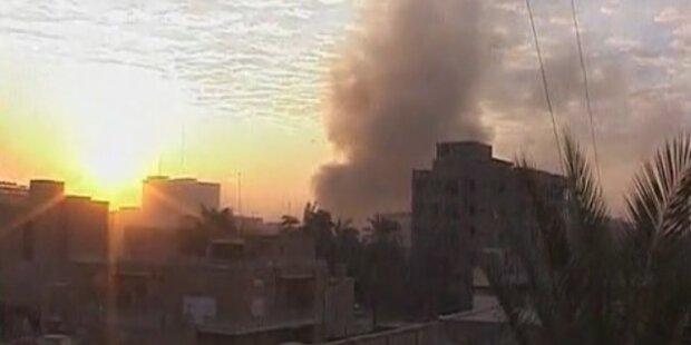 Bombenserie in Bagdad: 40 Tote