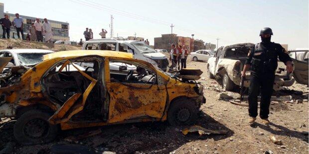 Terrorwelle im Irak: 42 Tote