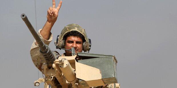 Iraks Armee feiert Erfolg gegen IS