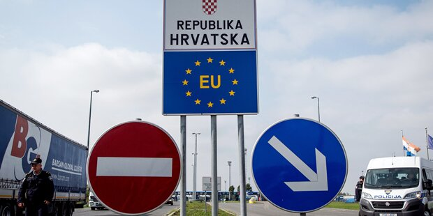 Kroatien öffnet Grenzübergänge zu Serbien