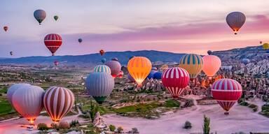 Ballon Spektaktel in der Türkei