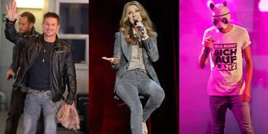 Bambi: Felix Baumgartner, Celine Dion, Cro