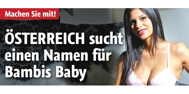 Gesucht: Wie soll Bambis Baby heißen?