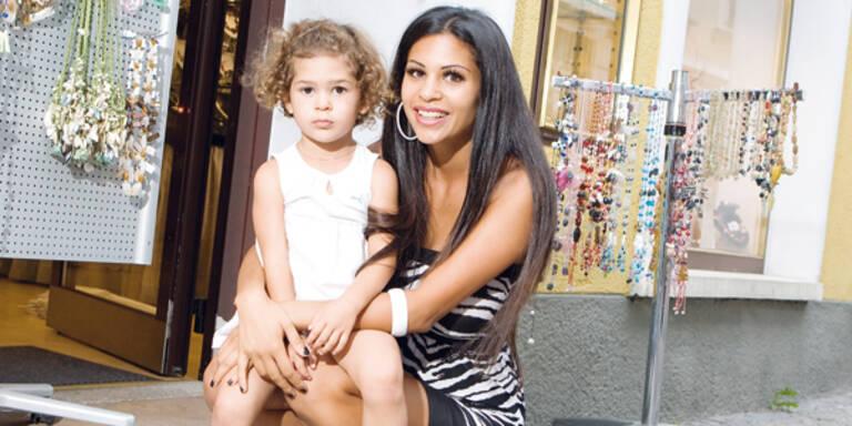 Bambi Nina Bruckner und Tochter Larissa
