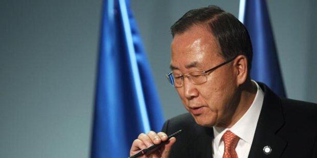 UNO-Generalsekretär Ban