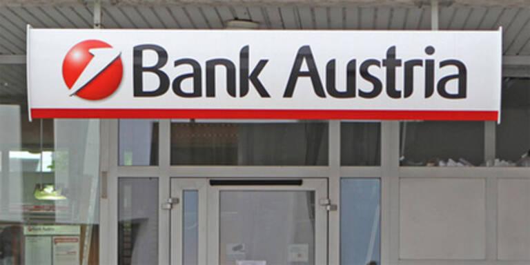 Bank Austria springt mit 198 Mio.ein