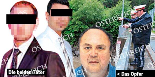Banker-Mord: Abge- trennter Kopf entdeckt