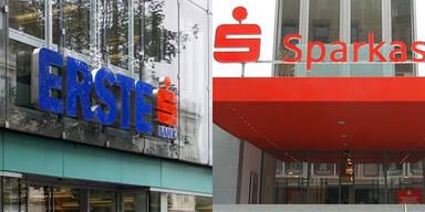 Online-Banking zweier Banken down