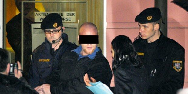 Bankräuber wegen Mordversuch angeklagt