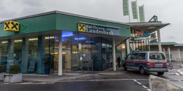 Raubüberfall auf Bank in Linz