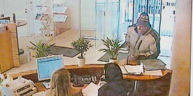 Banküberfall: Täter kam mit Messer