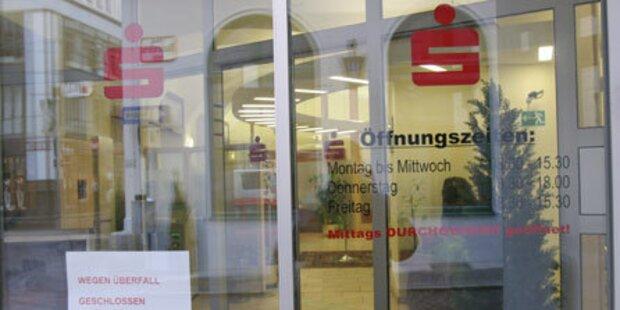 Balkan-Duo raubte vier Banken aus