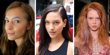 Das sind die Augenbrauen-Trends 2015