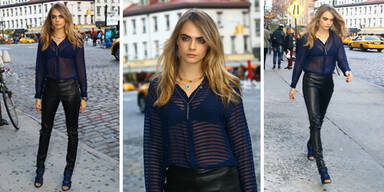 Cara Delevingne im sexy Outfit