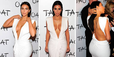 Kim lässt tief blicken