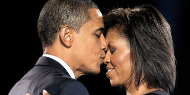 Barack Michelle Obama Kussarten