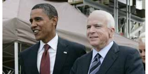 Streit zwischen McCain und Obama um Bankenrettung