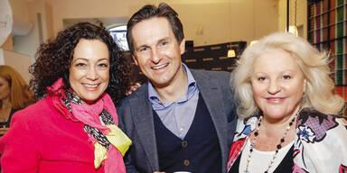 Barbara Wussow, Dietmar Keuschnig & Marika Lichter.