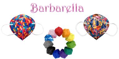 Barbarella FFP2-Masken Kollektion aus dem Online-Shop