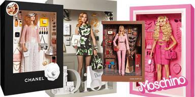 Models werden für die Vogue zu Barbies