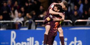 2:2 trotz Unterzahl für Barcelona