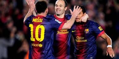 FC Barcelona ist neuer spanischer Meister