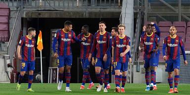 FC Barcelona siegte gegen Valladolid 1:0