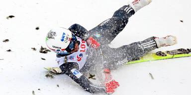 Weltmeister Bardal bei Sturz verletzt
