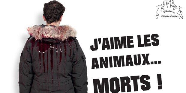 Brigitte Bardot-Schock mit Blut-Kampagne