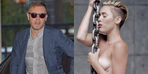 Gary Barlow wettert gegen Miley Cyrus