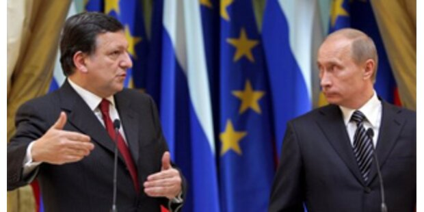 Barroso fordert von Putin mehr Zuverlässigkeit