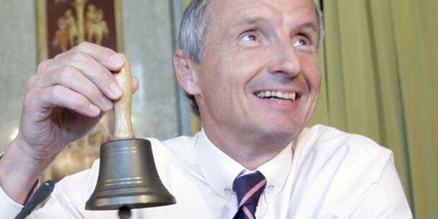 Bartenstein zieht sich aus der Politik zurück