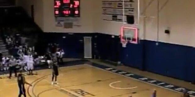 Basketball: 27m Wurf führt zum Sieg