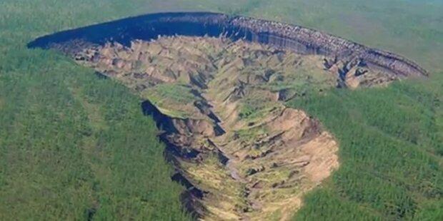 Gigantisches Loch offenbart Erschreckendes