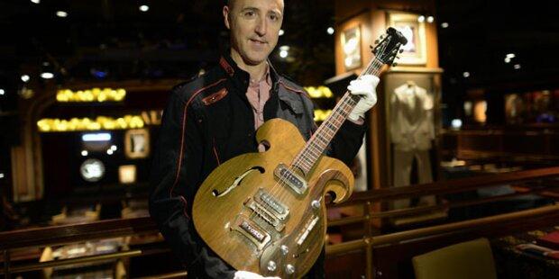 Beatles-Gitarre war Fan  400.000 Dollar wert