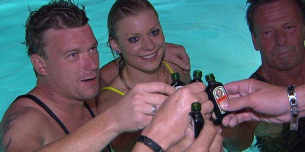 Heißer Badespaß bei Peter & Madeleine