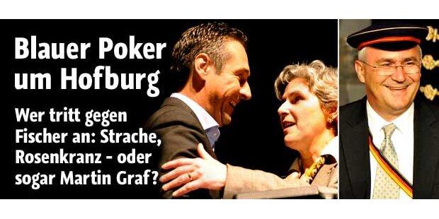 Blauer Poker um die Hofburg