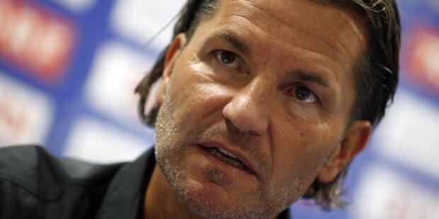 Austria-Coach Baumgartner will angreifen