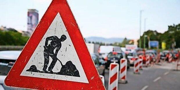 Bauarbeiten auf der A1 verzögern sich