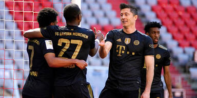 Bayern München im Jubel