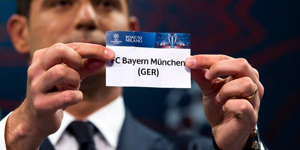 Hammer! FC Bayern muss nach Madrid