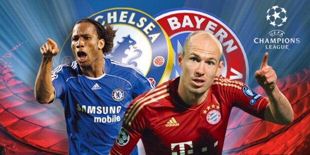 Chelsea triumphiert nach Elfer-Krimi