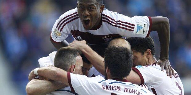 Bayern zerlegen Aufsteiger Paderborn