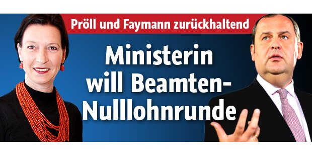 Faymann und Pröll stehen auf der Bremse