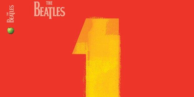 Alle No. 1 Singles der Fab Four